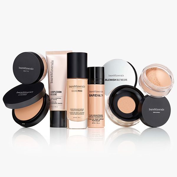 bareMinerals makeup products